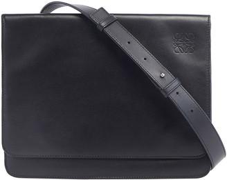 Loewe Men's Flat Leather Messenger Bag
