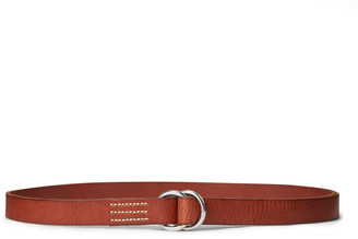 Ralph Lauren Skinny Leather O-Ring Belt