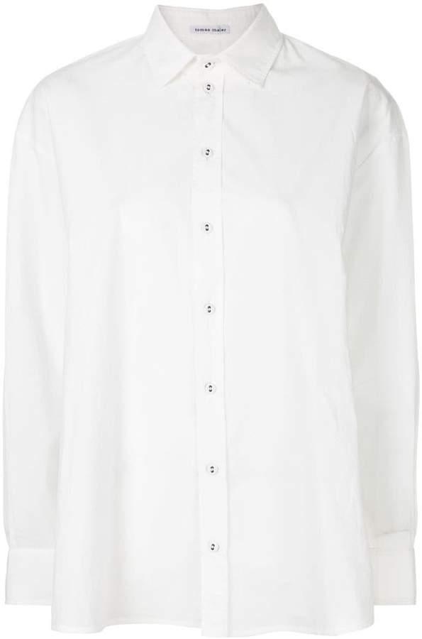 Tomas Maier balloon shirt