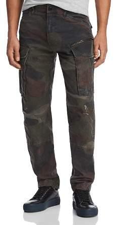 G Star Rovic Zip 3D Straight Slim Jeans in Gray Asfalt