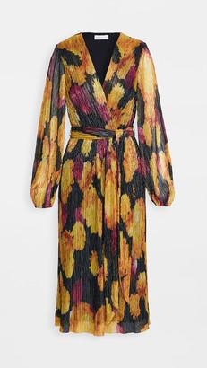 Rebecca Vallance Astoria Long Sleeve Midi Dress