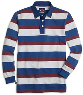 Brooks Brothers Cotton Triple Stripe Rugby