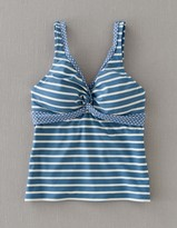 Boden Twist Front Tankini Top