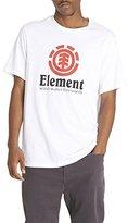 Element Men's Branded Logo T-Shirt Solid Colors