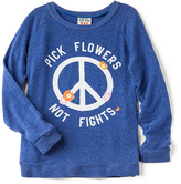 Junk Food Clothing Pick Flowers Not Fights Tee