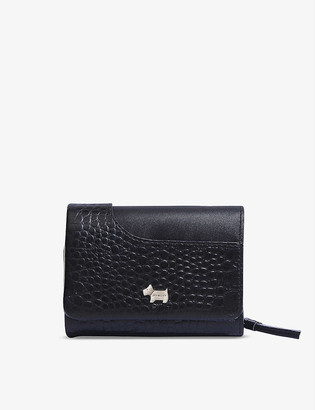 Radley + Co London Pockets small leather trifold purse