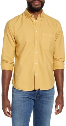 Billy Reid Tuscumbia Solid Button-Down Oxford Shirt