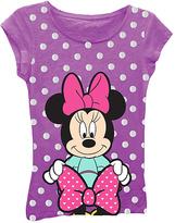 Freeze Minnie & Bow Tee - Girls