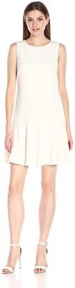 Nine West Women's Sleeveless Drop Waist Dress