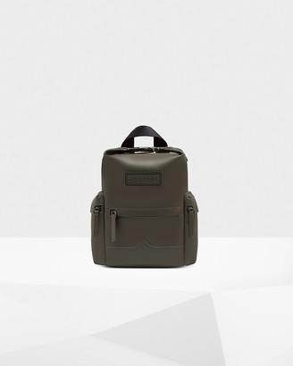 Hunter Original Mini Top Clip Backpack - Rubberised Leather