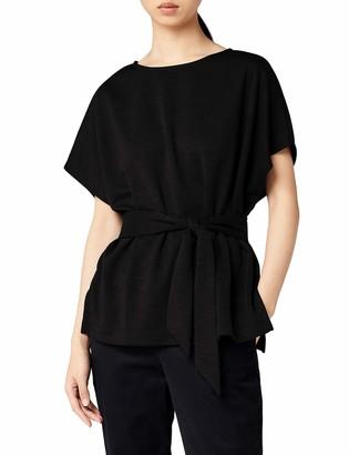 Meraki Amazon Brand Women's Relaxed Fit Alivia Tie Top