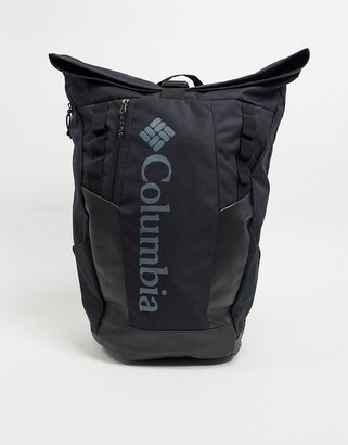 Columbia Convey 25 litres roll top backpack in black