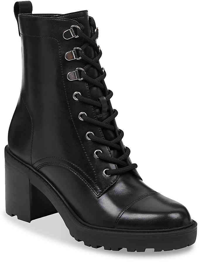 680c4840926c Marc Fisher Black Round Toe Women s Boots - ShopStyle