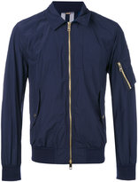 Burberry classic collar bomber jacket - men - Polyamide/Polyester - 48