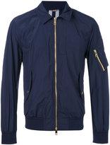 Burberry classic collar bomber jacket - men - Polyamide/Polyester - 48