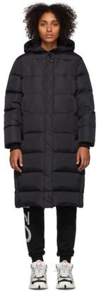 Kenzo Black Down Puffer Coat
