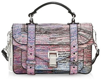 Proenza Schouler Tiny PS1 Anniversary Edition Leather Satchel