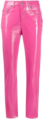 Fiorucci Yves vinyl trousers