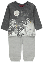 George Printed Top and Bottoms Set