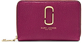 Marc Jacobs Double J Small Standard Wallet in Wine.