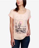 Lucky Brand Desert Dreamer Graphic Split-Back T-Shirt