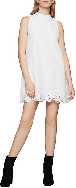 BCBGeneration Eyelet Embroidered Cotton Dress