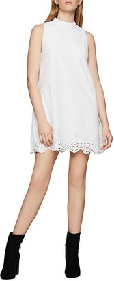 BCBGeneration Eyelet Embroidered Cotton Dress