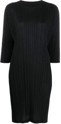 Pleats Please Issey Miyake relaxed-fit t-shirt dress
