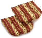 Kingsley Stripe Indoor/Outdoor Lounge Chair Cushion Winston Porter