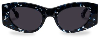 Le Specs Luxe Extempore 49MM Cat Eye Sunglasses