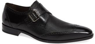 Mezlan Senator Monk Strap Shoe