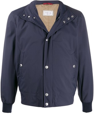 Brunello Cucinelli Regular-Fit Funnel-Neck Jacket