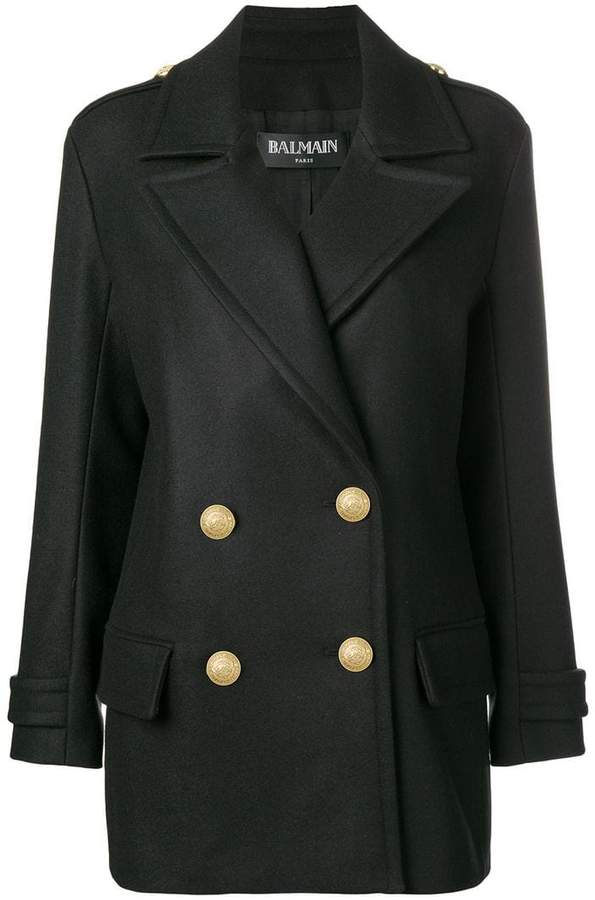 Balmain buttoned military jacket