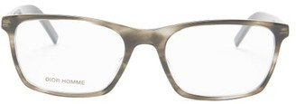 Dior Homme Sunglasses - Blacktie Square Acetate Glasses - Grey