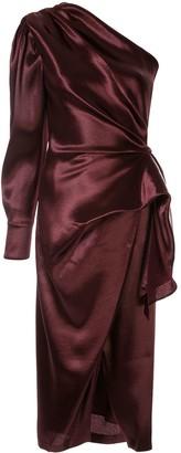 Altuzarra Chanda one-shoulder dress