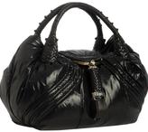 black down nylon Moncler 'Spy' bag
