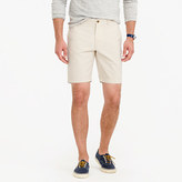 "J.Crew 9"" Short In Seeded Cotton"