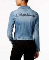 Calvin Klein Jeans Logo Denim Jacket