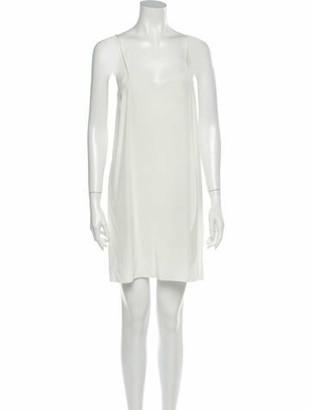 Chloé Silk Mini Dress w/ Tags White