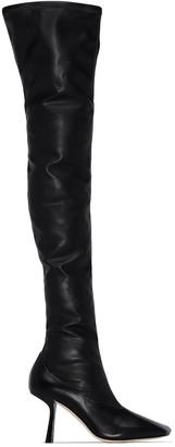 Jimmy Choo Mire 85mm thigh-high boots