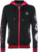 Philipp Plein printed hoodie - men - Cotton/Polyester - L