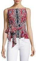 Nanette Lepore Anchors Away Silk Top
