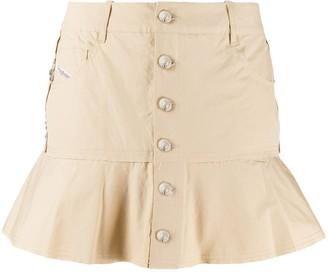 Diesel Flounced Mini Skirt