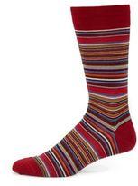 Marcoliani Poncho Striped Dress Socks