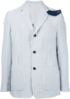 Sacai Hickory stripe jacket - men - Polyester - 1