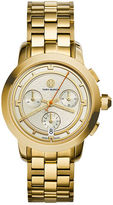 Tory Burch 37mm Tory Stainless Chronograph Golden Bracelet Watch