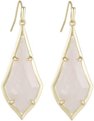 Kendra Scott Olivia Drop Earrings, Rose Quartz