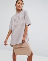 adidas Oversized T-Shirt With Trefoil Logo