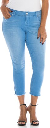 SLINK Jeans Frayed Cuff Jeans
