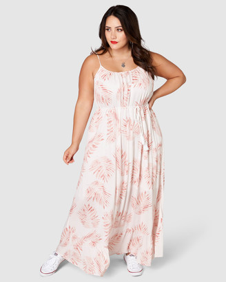 Sunday In The City - Women's Pink Maxi dresses - Lil Boi Maxi Dress - Size One Size, 14 at The Iconic